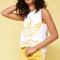 adidas Adicolor Yellow Trefoil Tank Top at PacSun.com