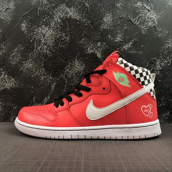 f1ad5f11e506 Nike SB Dunk High Prm Arizona Red Fashion Sneakers - Best Online Sale