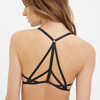 Strappy-Back Push-Up Bra