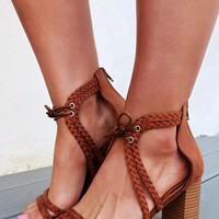 All I Got Heels: Brown