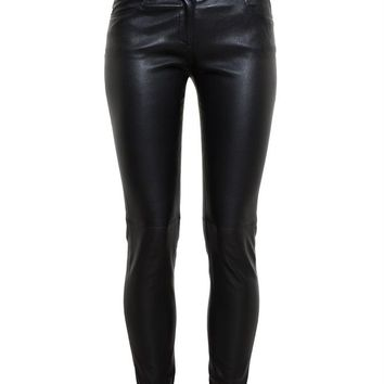 BALENCIAGA | Leather Trousers | brownsfashion.com | The Finest Edit of Luxury Fashion | Clothes, Shoes, Bags and Accessories for Men & Women