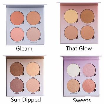 Glow Kit Gleam/That Glow/Sun Dipped /SweetsFace Powder Contour Kit Make Up Bronzer & Highlighter Cosmertic