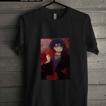 saringgan uchiha itachi naruto T-SHIRT FOR MAN SHIRT,WOMEN SHIRT **