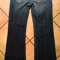 Seven 7 For All Mankind Bootcut Jeans Size 28 Dojo Style P1130