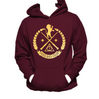 Gryffindor Wand Dueling Club Unisex Hoodie,Harry Potter,Nerd Girl Tees,Geek Chic,pop culture