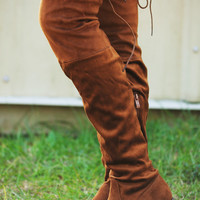 Take Me Riding Boots: Cognac
