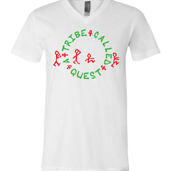 A Tribe Called Quest Canvas Unisex V-Neck T-Shirt