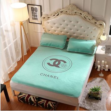 Chanle Collapsible - Ice mat - Three-piece - Single bed - Double bed Mint green B-AA#-CBJF