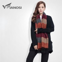 Fashion Brand Winter Scarf Women Designer Pashmina Shawls and Scarves