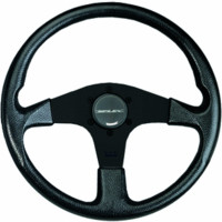 Corse Soft Touch Boat Steering Wheel, Black - Uflex