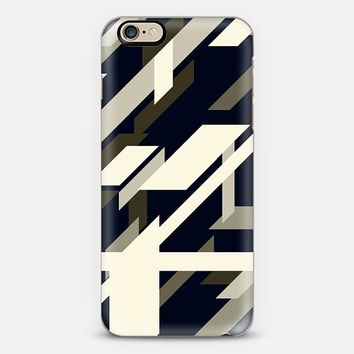 black & cream iPhone 6 case by DuckyB | Casetify