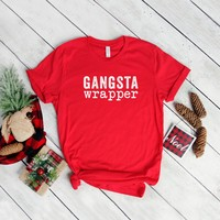 Gangsta Wrapper Christmas Graphic Tee