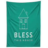 Allyson Johnson Bless This House Tapestry