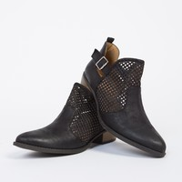 Low Cut Perforated Booties