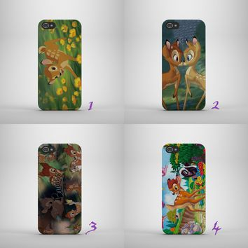 DISNEY/BAMBI/FAWN/THUMPER CUTE HARD PHONE CASE COVER FOR IPHONE/SAMSUNG MODELS