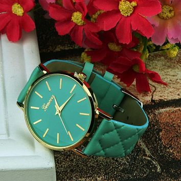 QUINN'S QUILTED BAND WATCH