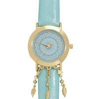 Baby Blue Dreamcatcher Watch