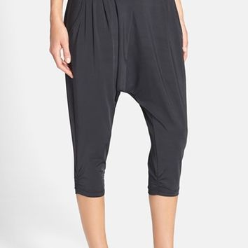 Innovative Nike Avant Crisscross Harem Capri Leggings In Blue  Lyst