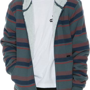 O'NEILL BIXBY SHERPA STRIPED JACKET