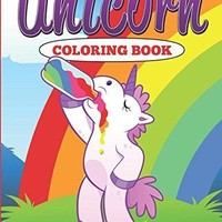 Unicorn Life Adult Coloring Book