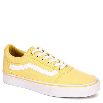 YELLOW VANS Womens Ward Low