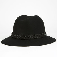 Rvca Rosy Fruits Womens Fedora Black One Size For Women 25098910001