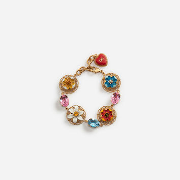 New Arrivals Women's Accessories | Dolce&Gabbana - BRACELET WITH MAJOLICAS