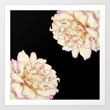 Roses - Lights the Dark Art Print by drawingsbylam