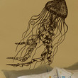 Vinyl Wall Decal Sticker JellyFish Deep Sea Ocean #364