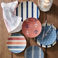 Nautical Outdoor Plates