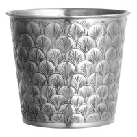 Large metal pot - Silver - Home All | H&M GB