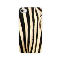 iPhone Case  Black & White Zebra Stripes  by paperangelsphotos