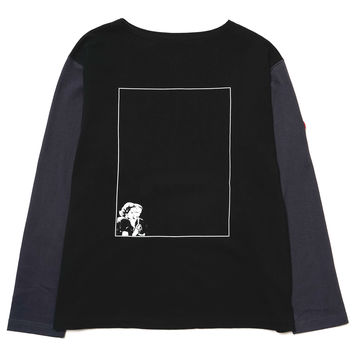 Black Reflect Long Sleeve T