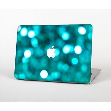 The Unfocused Subtle Blue Sparkle Skin Set for the Apple MacBook Air 11""