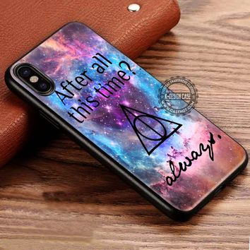 After All This Time Always Quote Harry Potter iPhone X 8 7 Plus 6s Cases Samsung Galaxy S8 Plus S7 edge NOTE 8 Covers #iphoneX #SamsungS8