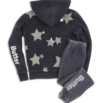 Butter Girls' Star-Embellished Hoodie & Joggers - Big Kid | Bloomingdales's