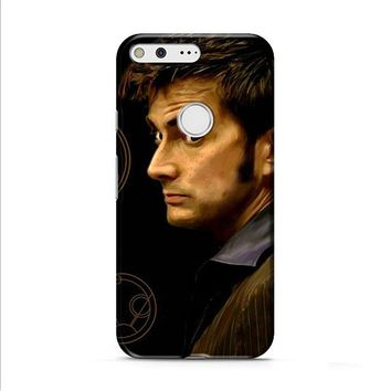 Tenth Doctor With Gallifreyan Google Pixel 2 Case