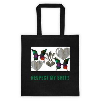 Custom and Sassy 100% Cotton Tote bag