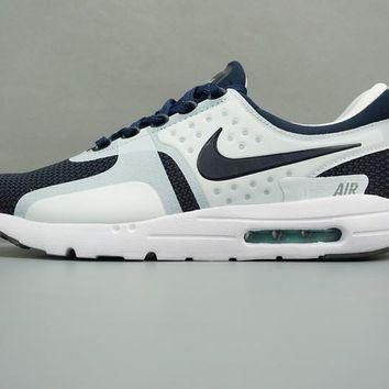 Best Deal Online NIKE AIR MAX ZERO 87 Blue Whtie