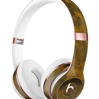 Grunge Golden Watercolor V1 Full-Body Skin Kit for the Beats by Dre Solo 3 Wireless Headphones