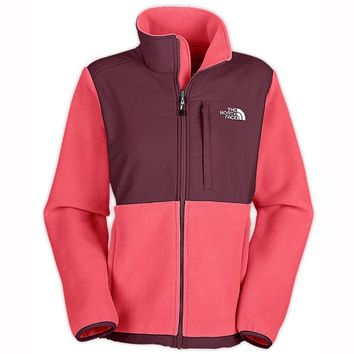 The North Face Denali Jacket - Women's - Pink Pearl / Squid Red - Medium