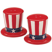 Uncle Sam's Hat Shaker Set