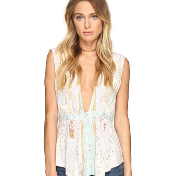 Free People The Siren Top Ivory - Zappos.com Free Shipping BOTH Ways