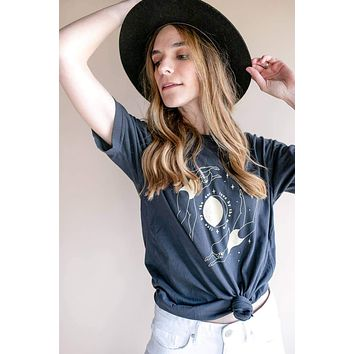 Polished Prints | Live By The Sun, Love By The Moon Tee