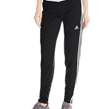 adidas Performance Women's Tiro Training Pant, Black/White/Black