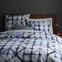 Shibori Duvet Cover + Shams