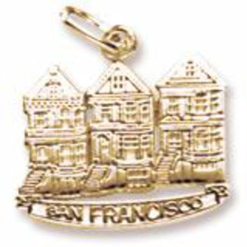 Victorian House,S.F. Charm In Yellow Gold