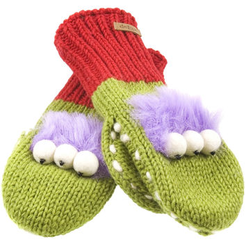 Al The Alien Knit Mittens