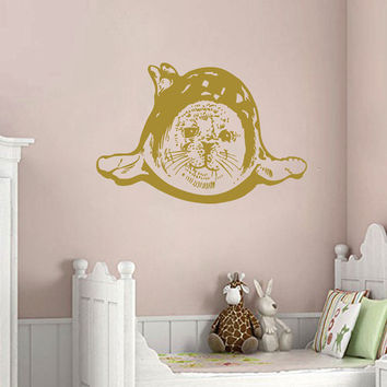Wall Decals Marine Animals Fur Seal Pinnipeds Humor Girl Boy Bedroom Kids Nursery Children Baby Room  Vinyl Decal Sticker Home Decor ML263