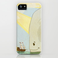 Whale of a Tale iPhone & iPod Case by Even In Death | Society6